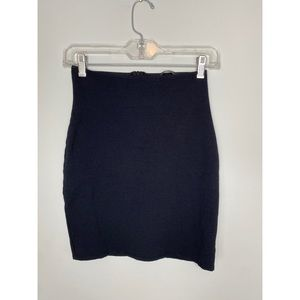 Solemio High Waist Bodycon Mini Skirt